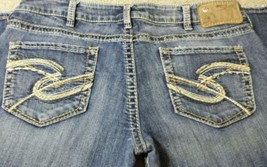 Silver Jeans Indigo denim Eden jeans size 30 x 31 great condition low rise - $24.04