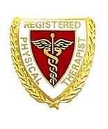 Registered Physical Therapist Lapel Pin Caduceu... - $12.97