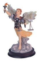 6 Inch Archangel Uriel Holy Figurine Religious Decoration Statue - $17.00