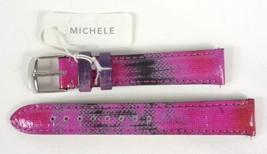 Michele MS16AA430507 A Twilight PurpleGenuine Patent Leather Watch Band NEW $100 - $44.99