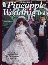 Pineapple Wedding Dolls for Barbie Crochet Pattern - 30 Days To Shop & Pay! - $8.07