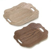 Scallop Edge Display Trays - $37.95