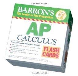 Barron s AP Calculus Flash by David Bock M.S.