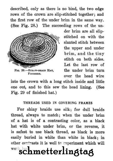1907 Millinery Book Hat Making Make Edwardian Hats How DIY Milliner Gibson Girls