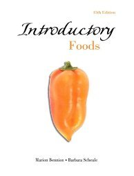 Introductory Foods by Marion Bennion