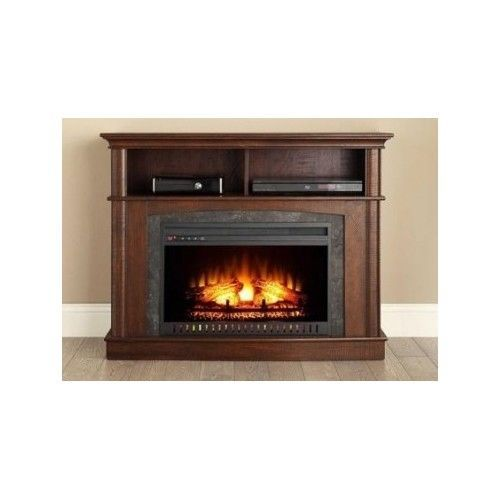Electric Fireplace Tv Console Entertainment Center Media
