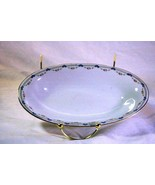 """Royal Bayreuth Antique Circa 1912 Pink Floral Swags Celery Tray 9"""" - $10.07"""