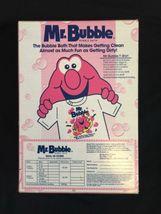 Vintage Mr Bubble Bath 1990s 90s 10oz Box Sealed New Old Stock NOS image 3