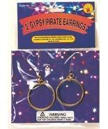 GYPSY or PIRATE HOOP EARRINGS CLIP ON - $3.00