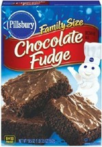 Pillsbury Chocolate Fudge Brownie Mix Family Size - $10.84