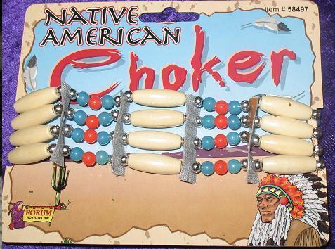NATIVE AMERICAN NECK CHOKER