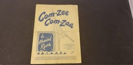January 1945 Com-Zee Com Zaa A Musical Revue Presented By US Army Specia... - $67.82