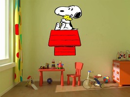 Snoopy Charlie brown Woodstock 3D Window View Decal Graphic WALL STICKER... - $6.92+