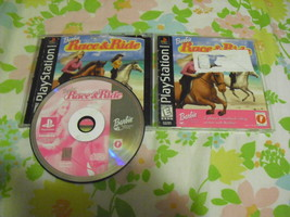Barbie Race & Ride  (Sony PlayStation 1, 1999) - $8.90