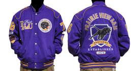 Praire View A & M University long sleeve jacket Letterman Coat M-5X - $94.75
