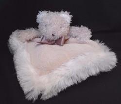Blankets and Beyond Tan Bear Fur Security Blank... - $19.55