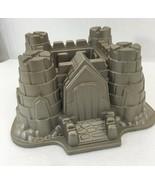 Nordic Ware Castle Bundt Pan Sandcastle 10 Cup Cast Aluminum - $28.73