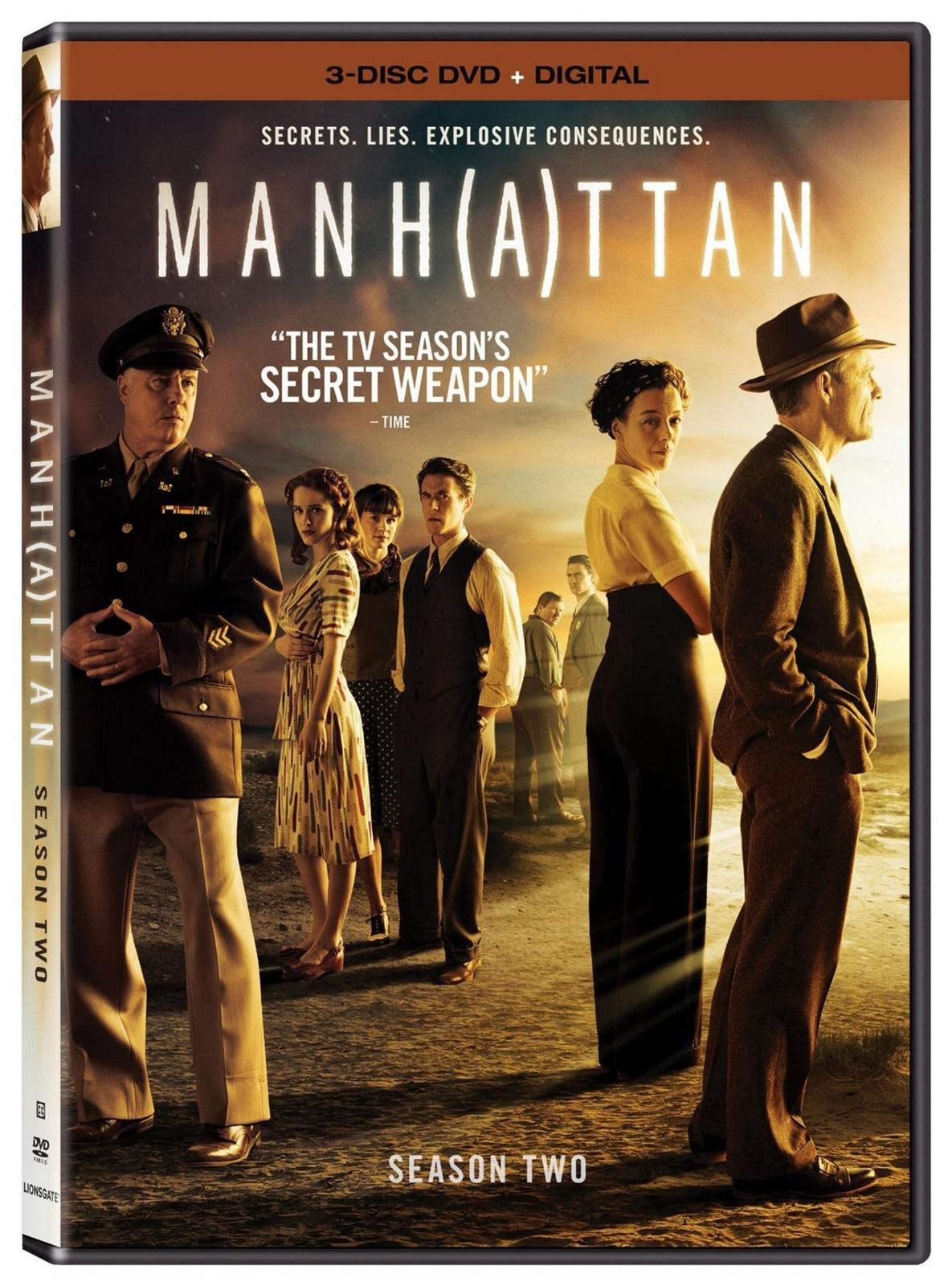Manhattan second season two 2  dvd 2016 4 disc set