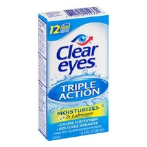 Clear Eyes Triple Action Relief Eye Drops - $9.85