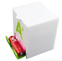 POPMAS Battery Organizer,Battery Storage Box,Battery Holder,AA Battery C... - $9.01