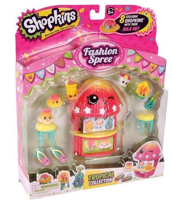 Shopkins Fashion Spree Tropical Collection Season 4