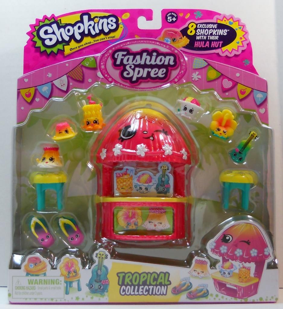 Shopkins tropical collection 1a