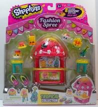 Shopkins Fashion Spree Tropical Collection Season 4 - $14.95