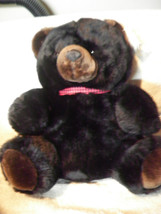 NEW WITH TAGS FLUFFYVILLE PLUSH BLACK BEAR MINKY - $21.25