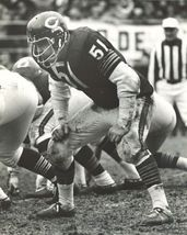 Dick Butkus Chicago Bears CTK Vintage 11X14  BW Football Memorabilia Photo - $14.95