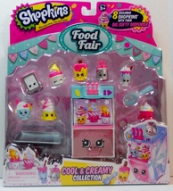 Shopkins Food Fair Cool And Creamy Collection exclusives Season 3 - $14.95
