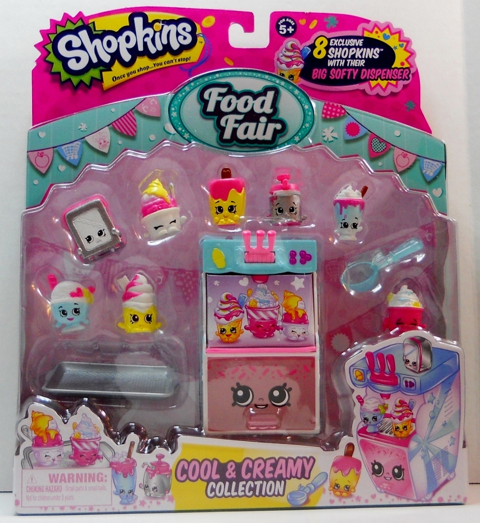 Shopkins Food Fair Cool And Creamy Collection exclusives Season 3