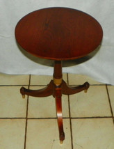 Cherry 3 Leg Plant Stand / Lamp Table - $299.00