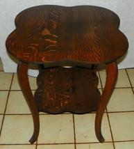 Quartersawn Oak Four Leaf Clover Center Table / Parlor Table - $499.00