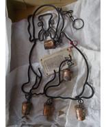 Vtg Bells of Sarna Dog Windchime Made in India ... - $57.42