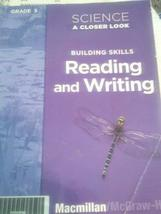 Science A Closer Look, Grade 5: Building Skills Reading and Writing (Building Sk