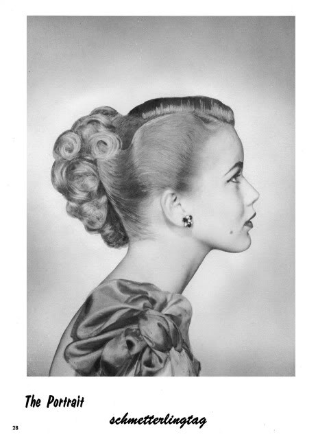 1950s ATOMIC Hairstyle Book Create 50s Long Hairstyles Prom Wedding Updos Hair
