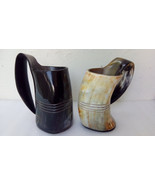 Large Viking drinking horn mugs beaker Game of thrones ceremonial weddin... - $1.047,32 MXN