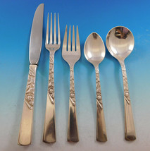 Rose Motif by Stieff Sterling Silver Flatware Set for 8 Service 45 pieces  - $2,695.00