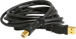 Mediabridge USB 2.0 - A Male To B Male Cable (10 Feet) - High-Speed W/ - Black image 4