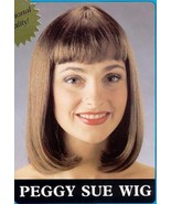 BROWN WIG SHOULDER LENGTH with BANGS  - $25.00