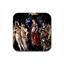 Allegoria Della Primavera Sandro Botticelli Non-Slip Drink/Beer Coaster Set - $6.74