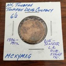 Tonopah Drug Co NV Good For 6 1/4c Trade Nevada Token TC-45619 - $29.67