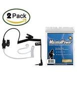 Pack of 2 Maximal Power RHF 617-1N 3.5mm Surveillance Plug Receiver/List... - $15.99