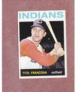 1964 Topps high # 583 Tito Francona Cleveland Indians Nice Card - $7.99