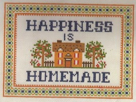 Sunset Counted Cross Stitch Kit Happiness is Homemade New in Package - $12.99