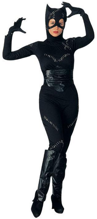CATWOMAN ADULT STANDARD COSTUME SIZE FITS UP TO 12