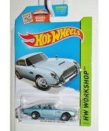 Hot Wheels, 2015 HW Workshop, Aston Martin 1963 DB5 Die-Cast Car [Blue/G... - $2.00