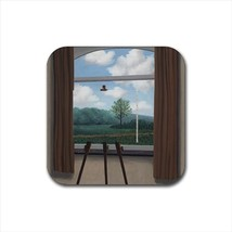 Condition Humain Rene Magritte Non-Slip Drink/Beer Coaster Set - $6.74