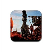 Europe after the Rain Ii Max Ernst Non-Slip Drink/Beer Coaster Set - $6.74