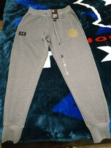 UA x Project Rock 96 World Champion Joggers SMALL Under Armour - $60.78